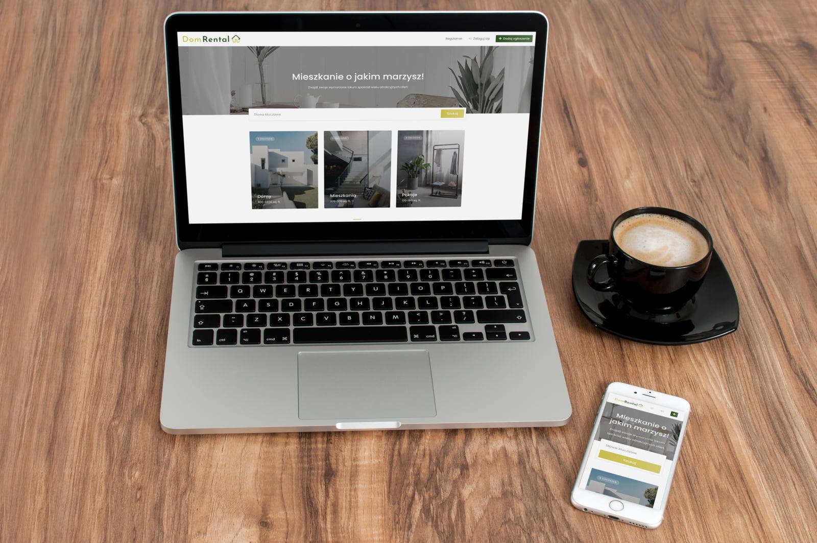 Portal wynajmu nieruchomości